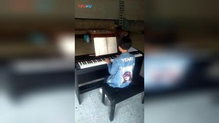 VID幸福的花朵(三级)电钢琴演奏_标清_1
