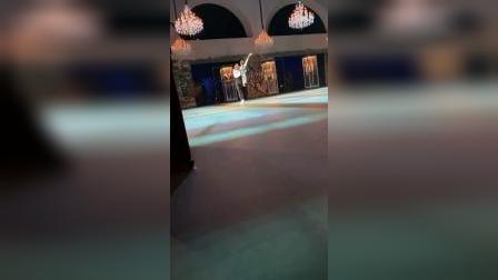 2019.11.1 莫大 努里耶夫 片段 Nina Kaptsova, Artem Ovcharenko
