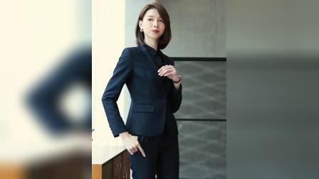 职业装套装女2019新款时尚气质商务西装正装女经理工作服套裙-tmall.com天猫