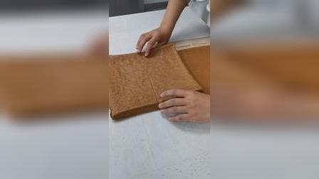 [经典甜品制作分享]黑森林蛋糕卷