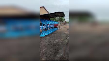 萝北县永鹏农机具制造有限公司 545液压翻转犁现场作业展示4