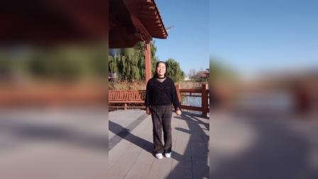 宜阳明萱广场舞简单16步(我的爱要你知道)