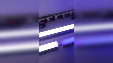 DMX512外控线条灯洗墙灯样板调试