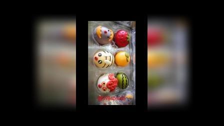 果蔬卡通包视频网络教学之西瓜、树叶、小猪造型教程!