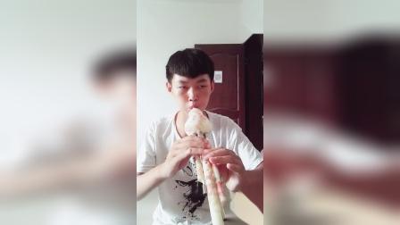 cjj民间小调-帅帅葫芦丝《手扶栏杆》