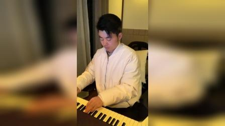 《左手指月》夜色钢琴曲 赵海洋 演奏视频