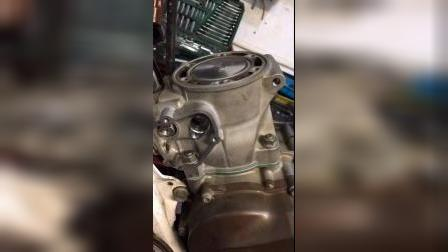 胡思瓦娜汽缸修复后装车