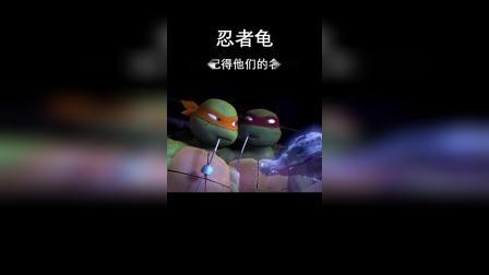《忍者龟》你还记得他们的名字吗