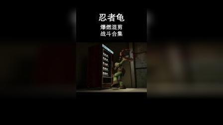 《忍者龟》爆燃混剪 战斗合集