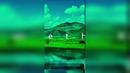 F124AE模板 竖版简约时尚快闪旅游图文展示 图片相册快闪广告促销产品主图 视频制作