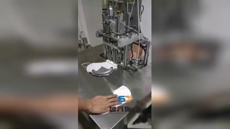 一分钟20-80片的半自动耳带焊接机随拍视频