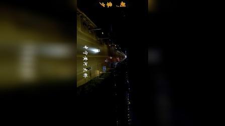 中宁县从北朝南空中俯瞰,坐标:黄河大桥