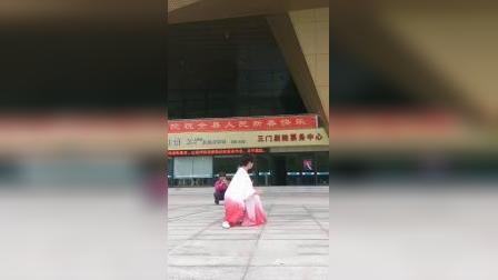 郑平老师演练观音拳