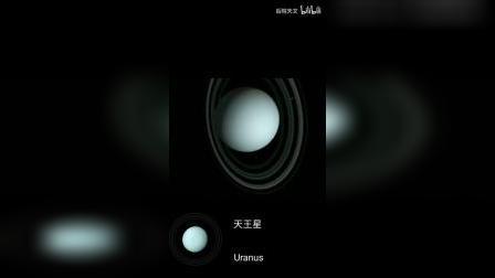 假如太阳系原九大行星都自带光环,那将会是什么样子 -