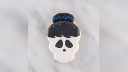 糖玩意儿窟窿头卡通糖霜饼干制作