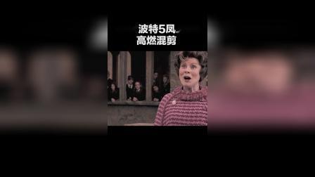 《哈利波特5凤凰社》高燃混剪,永失所爱何时归来