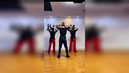 (别知己)银色水兵舞果果单人吉特巴背面全部教学视频加舞曲_超清_0