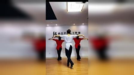 (别知己)银色水兵舞果果单人吉特巴背面全部教学视频加舞曲_超清_0_标清