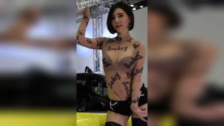 191003 2019 汽车沙龙 韩国美女模特 车模 송주아(宋姝儿)