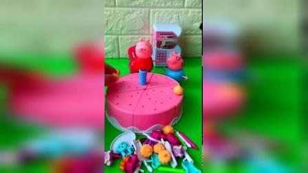 儿童玩具:跟猪妈妈做蛋糕