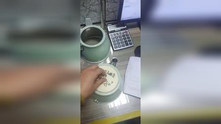 东莞鹏鲲保温咖啡壶喷涂线 加菲保温壶自动喷漆线