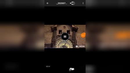20200717_234044布拉格天文钟报时两秒
