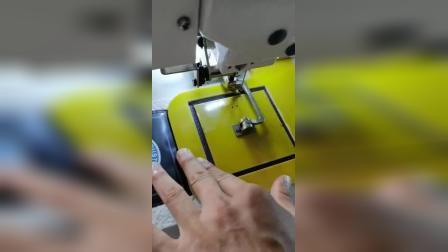 4020反转压脚电脑花样机. 床垫商标自动化缝纫机 床垫拉手把电脑车