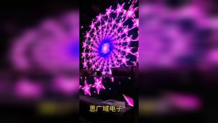 思广域泌阳酒吧室内全彩LED显示屏.mp4