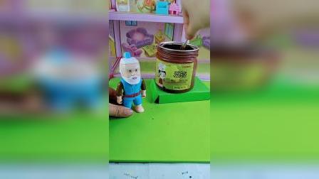 葫芦娃爷爷卖巧克力棒棒糖,熊二和佩奇都来买,把蝎子精都引来了!