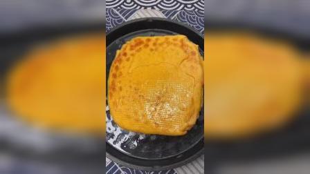 胡萝卜发面千层饼