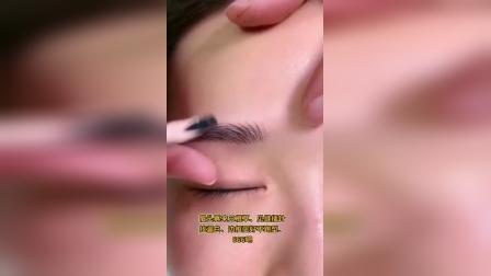 纹绣教程线条眉分解排列视频讲解