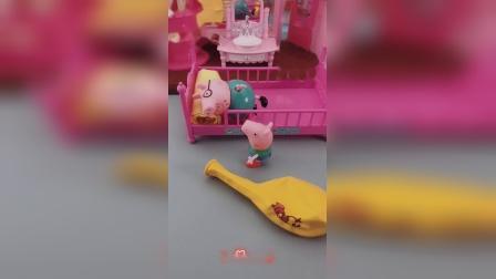 少儿益智玩具:猪妈妈吹气球