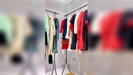 摩凡印花刺绣工艺摩登女装  网红同款品牌秋季女装专柜高端女装 抖音快手直播一手货源走份批发