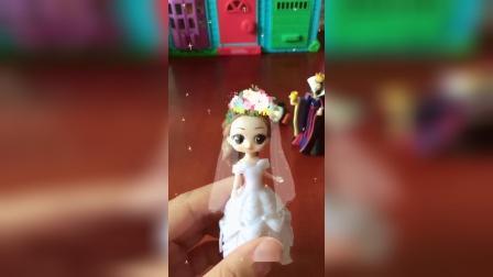 白雪要嫁给王子了,贝儿变成了白雪,王子会知道吗