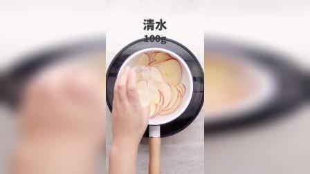 吐司和苹果做成甜点,颜值高热量低,好吃~#美食#甜品