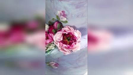 自然花系#韩式裱花真实立体的花朵,不追求工整对称,反而更加的清新自然~