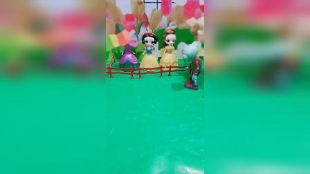 小猪佩奇玩具:王子怎样才能救出公主'