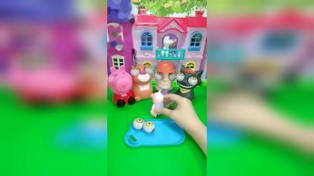 小猪佩奇玩具:小哪吒太欺负人了怎么办
