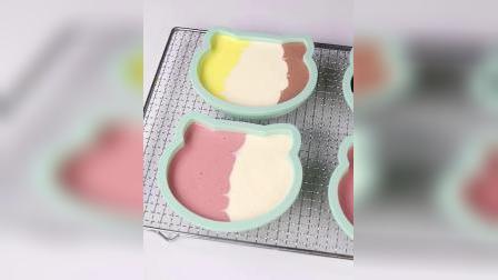 糖玩意儿卡通猫慕斯蛋糕烘焙手工制作