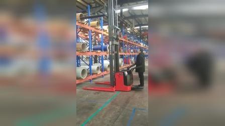 米玛串杆车在铝卷行业应用