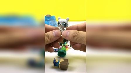 小猪佩奇食品罐惊喜玩具