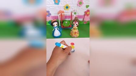 少儿益智玩具:白雪也想吃糖葫芦