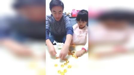 儿童亲子游戏:熊孩子吃货囧事,小提琴糖果喜欢吗