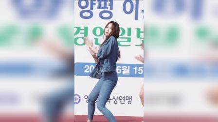 甜美女孩Sooyeon@李杨平马拉松美女舞蹈表演