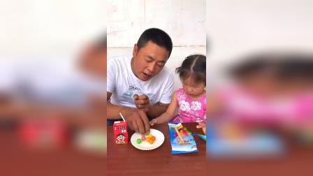 爸爸你不是说你只是试吃吗