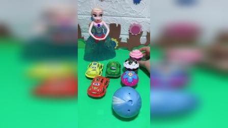 少儿益智玩具:妈妈买小汽车曲奇蛋了
