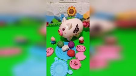 少儿益智玩具:佩奇好厉害,还会做面条呢