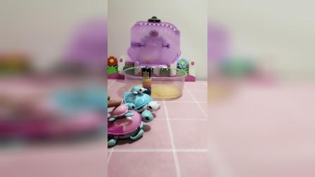 小猪佩奇玩具:小海龟没有家了!