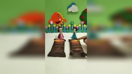 少儿益智玩具:贝儿白雪都买了烘焙巧克力