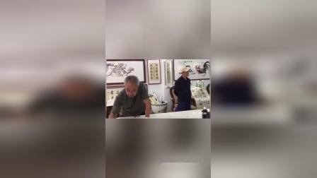 迎国庆,庆中秋 哈市及巴木通艺术家笔会